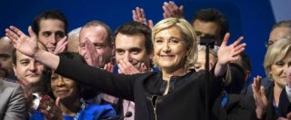 """Francia, il debutto della Le Pen: """"Io l'unica candidata del popolo. Se vinco, voto sull'uscita dall'Europa e via dalla Nato"""""""