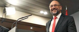 """Elezioni Bassa Sassonia, Merkel sconfitta: la Spd primo partito. Schulz: """"Vittoria meravigliosa"""". Cdu: """"Pronti a colloqui"""""""