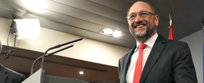 Germania, Schulz sposta Spd a sinistra. 'Euro-populista che imita Sanders e punta a intercettare il malcontento degli esclusi'