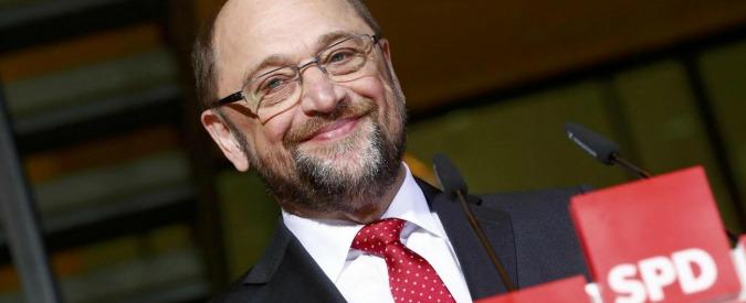Elezioni Germania, effetto Schulz sull'Spd: +5 punti al 26%. Scende al 35% l'alleanza Cdu-Csu che sostiene Merkel