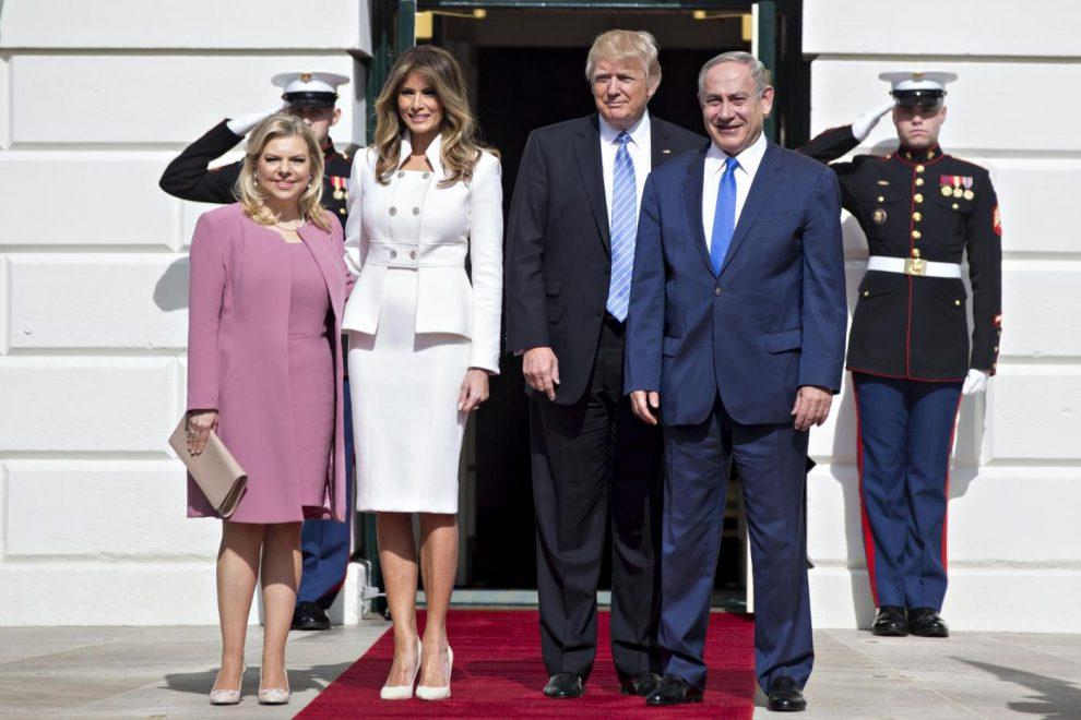Trump e Netanyahu, incontro alla Casa Bianca