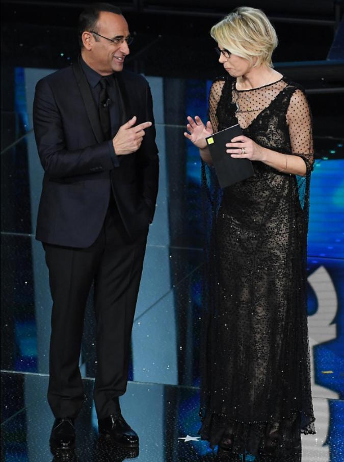 Sanremo 2017, le pagelle di Silvia Truzzi: se il Festival durasse fino a martedì, Maria 'si mangerebbe' tutto e tutti