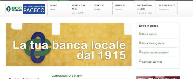 """Trapani, Bankitalia commissaria banca già in amministrazione giudiziaria: """"È infiltrata da Cosa nostra"""""""
