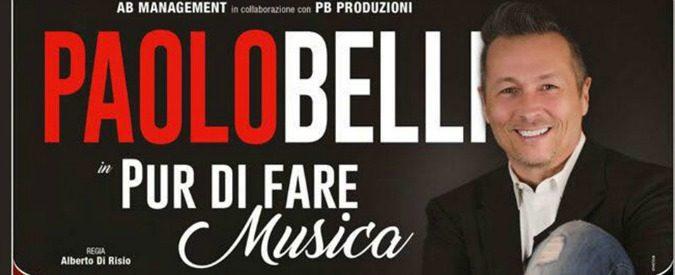 'Pur di fare musica' a teatro, Paolo Belli è uno spettacolo nello spettacolo