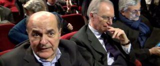 """Pd, Bersani: """"Sostegno di Renzi a Gentiloni? Dovrà dirlo lui, non Emiliano"""". Minoranza dem: """"Problema politico, non di posti"""""""
