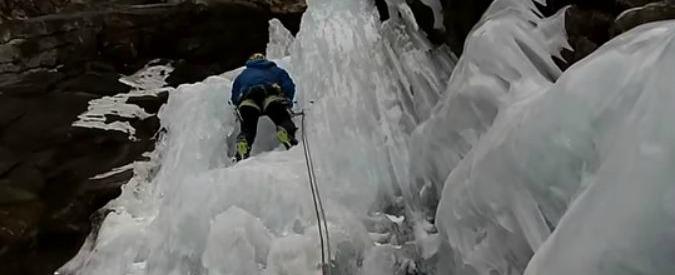 Gressoney, crolla una cascata di ghiaccio: morti 4 scalatori italiani