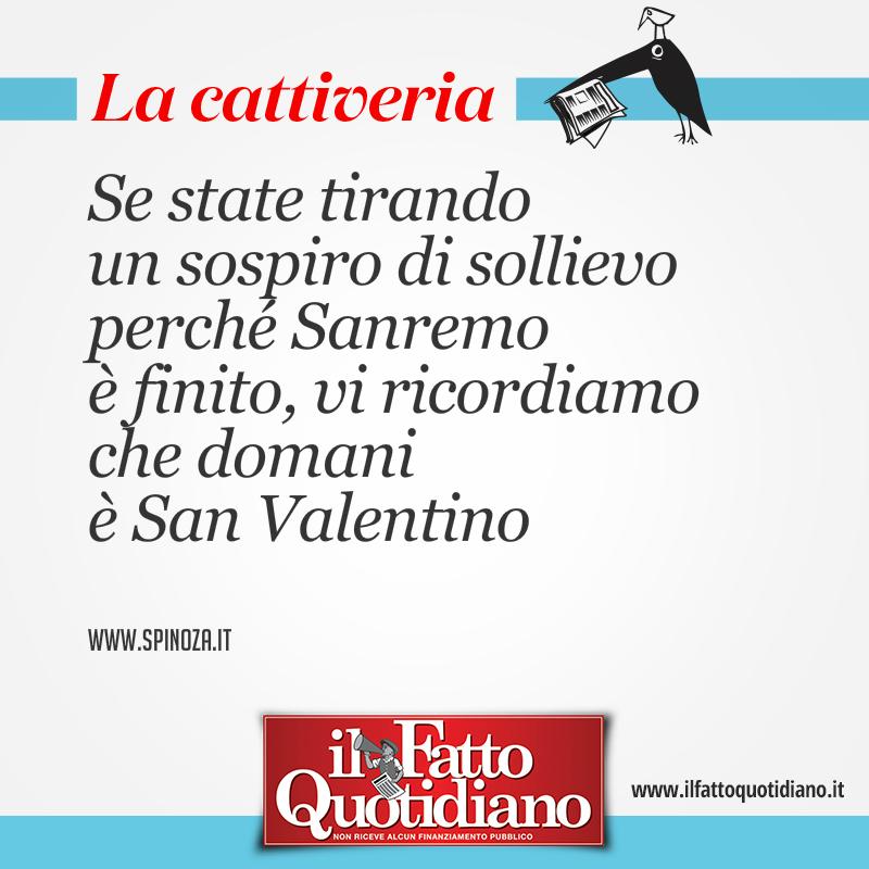 Se state tirando un sospiro di sollievo perché Sanremo è finito, vi ricordiamo che domani è San Valentino