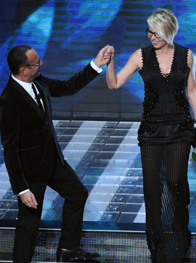 Sanremo 2017, le pagelle di Michele Monina: Carlo Conti vince tutto, De Filippi macchina da guerra che non fa prigionieri - 9/15