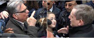 """Direzione Pd, Cuperlo contestato da militanti renziani: """"Ci avete fatto perdere"""". Lui: """"Io leale, ma serve rispetto"""""""