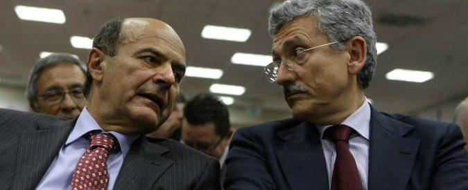 Pd, vi ricordate le imprese degli scissionisti Bersani e D'Alema?