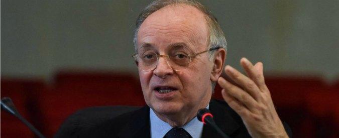 """Corruzione, Piercamillo Davigo: """"Centrosinistra se non ci ha messo in ginocchio ci ha genuflessi"""""""