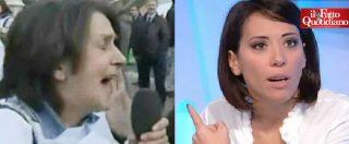 """Raggi, militante M5S vs De Girolamo (Fi): """"Fatela lavorare"""". """"Mi pare il film L'Esorcista"""""""