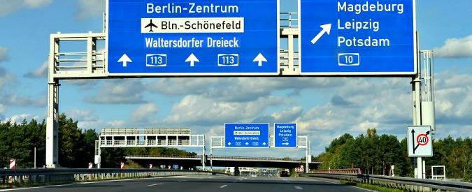 Germania, autostrade senza limiti di velocità? Ormai è roba da cinema