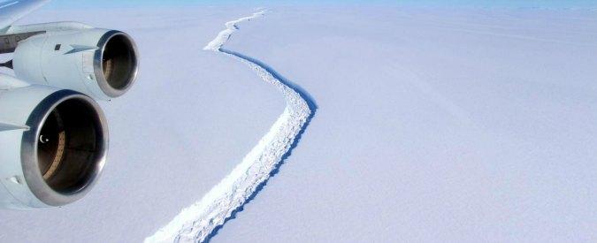 """Antartide, c'è una """"ferita"""" tra i ghiacci. L'esperto del Cnr: """"Potrebbe formare un iceberg grande come la Liguria"""""""