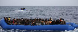 Migranti, in aumento il numero di morti nel Mediterraneo: nel 2017 sono 485