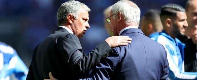 """Ranieri esonerato, l'ex nemico Mourinho al suo fianco: """"Il Leicester gli dedichi lo stadio"""" – VIDEO"""