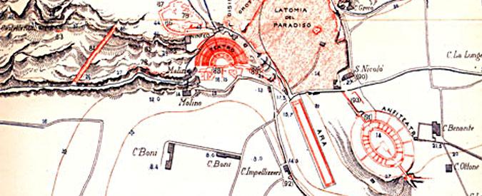 Siracusa, le guide turistiche protestano: l'area archeologica della Neapolis in abbandono