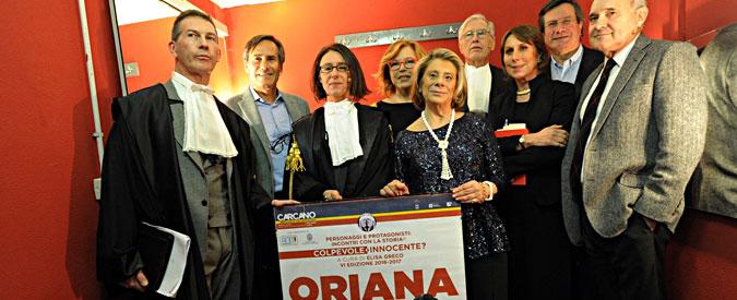 Processo alla Storia: Oriana Fallaci, colpevole o innocente? E Massimo Fini ricorda quando Panagulis le mollò un ceffone per contenerla