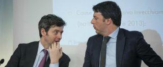"""Pd, Orlando: """"Renzi rischia il frontale"""". E non esclude che potrebbe candidarsi. La minoranza: """"Scissione a un passo"""""""