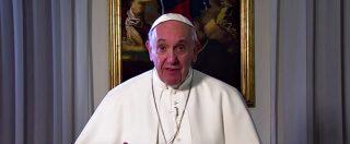 """Super Bowl, il Papa parla all'America di Trump: """"Costruire cultura di incontro e di pace è possibile"""""""