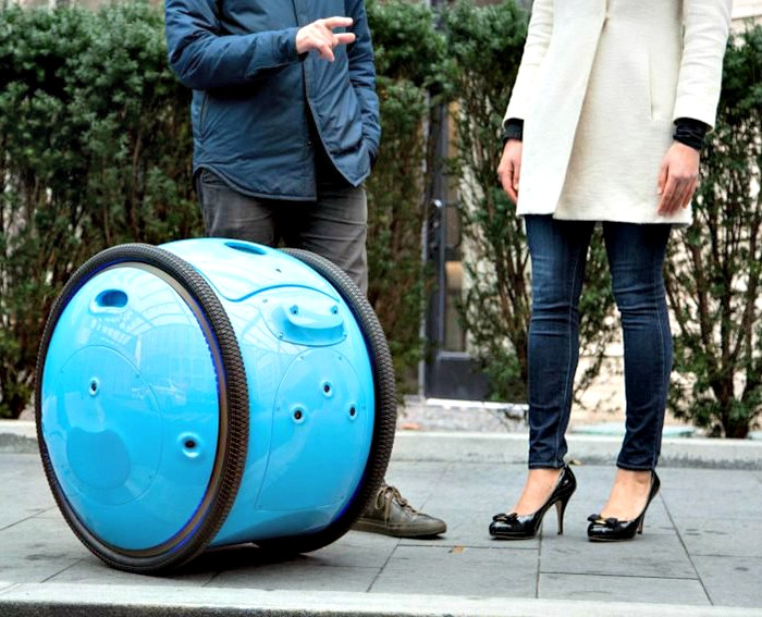 Piaggio Gita, valigia autonoma