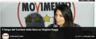 """Virginia Raggi, il blog di Beppe Grillo contro il Corriere: """"Ricostruzioni fantasiose sul caso polizza"""""""