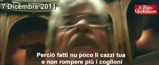 """Vitalizi, quando nel 2011 Razzi disse a Barbato: """"Ti manca meno di un anno. Fatti li cazzi tua e andiamo avanti"""""""