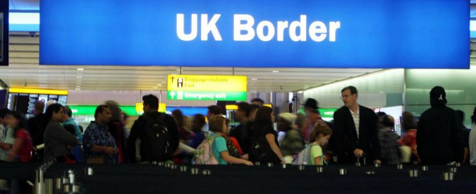 File photo dated 22/07/15 of passengers going through the UK Border at Terminal 2 of Heathrow Airport. Ministers are reportedly considering plans to limit benefits for new immigrants and give multi-year visas to migrant workers in key sectors as part of efforts to stick to the pledge to bring net inward migration down to the tens of thousands.  PRESS ASSOCIATION Photo. Issue date: Sunday February 26, 2017. See PA story POLITICS Immigration. Photo credit should read: Steve Parsons/PA Wire