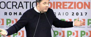 """Pd, Renzi in direzione: """"Congresso prima del voto. Scissione? Ricatto morale"""". Emiliano: """"Non ti capisco più, mi candido"""""""