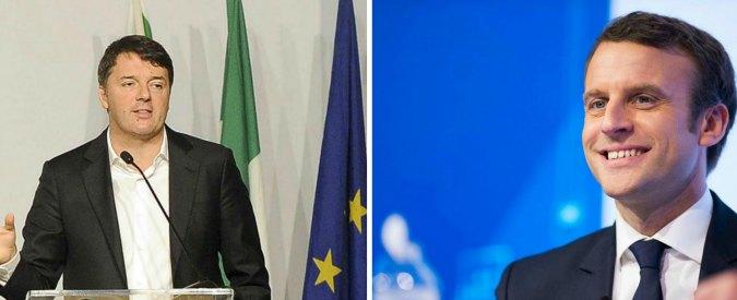 """Pd, Renzi guarda al centrista Macron in Francia. (Alcuni) dem all'estero: """"Ci imbarazza, Pse chiede spiegazioni"""""""