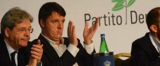 """Assemblea Pd, Renzi non media con la minoranza: """"No ai ricatti"""". """" Emiliano, Rossi e Speranza: """"Ha scelto la scissione"""""""