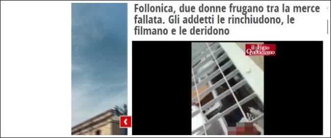 Rom in gabbia a Follonica, ma la politica (a parte Salvini) non ha niente da dire