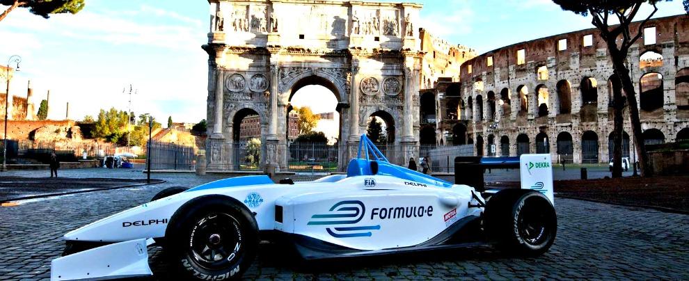 Formula E, Roma dice si alle monoposto elettriche. Sarà l'unica tappa italiana