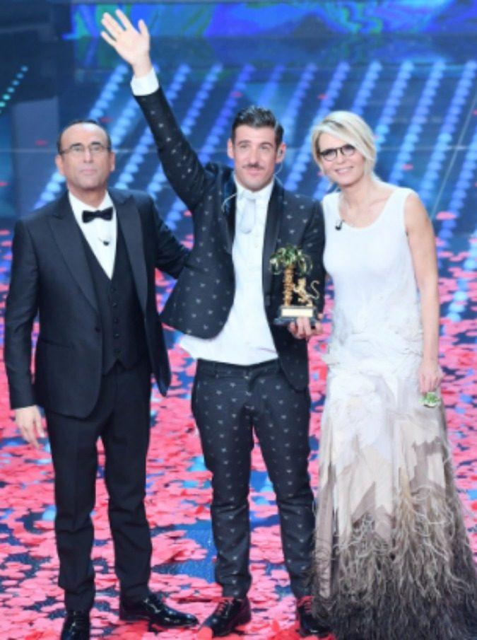 Sanremo 2017, il vincitore è Francesco Gabbani, seconda Fiorella Mannoia, terzo Ermal Meta