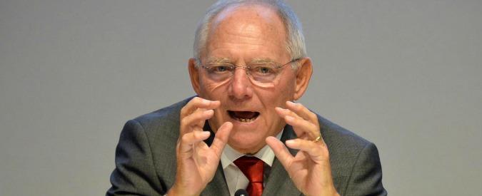 """Bce, Draghi: """"Le critiche di Schäuble? Comprensibili prima delle elezioni"""". E difende la Germania da attacchi di Trump"""