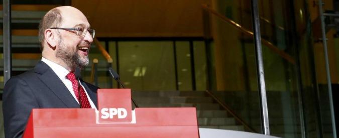 Elezioni Germania, per la prima volta Schulz porta l'Spd un punto davanti alla Merkel nei sondaggi