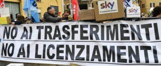 Emittenti tv, Mediaset nega esuberi. Mentre Sky prospetta una nuova ristrutturazione ai danni dei tecnici