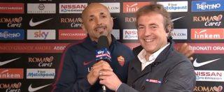 """Roma, Spalletti irrompe ai microfoni di Sky Sport: """"Famo sto stadio. E' questo l'argomento di oggi"""""""