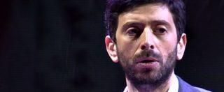 """Pd, Roberto Speranza: """"Stamattina ho parlato con Renzi che mi ha cercato"""". E la platea rumoreggia"""