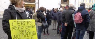 """Terremoto, la rabbia a Montecitorio: """"Noi abbandonati. Dal Governo solo promesse"""""""