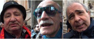 """Stadio Roma, la protesta dei tifosi azzoppata dalla pioggia: """"Se il progetto salta ci ricorderemo della Raggi"""""""