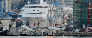 """Genova, inchiesta-bis sul crollo Torre Piloti: chiesto il processo per 18 persone e società. Pm: """"Costruita senza protezioni"""""""