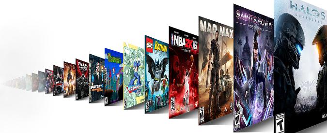 Xbox Game Pass: abbonamento in stile Netflix. Più di 100 titoli del catalogo Xbox One e Xbox360