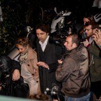 Foto LaPresse – Claudio Furlan 10/03/2017 Milano ( IT )  Ricordo pubbblico e incontro di preghiera per Dj Fabo  Nella foto: Marco Cappato con la madre di Dj Fabo