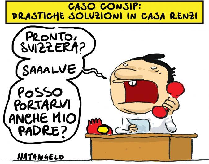 Papà Renzi nei guai