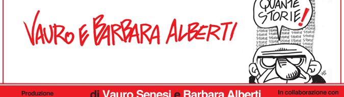 Quante storie, lo spettacolo di Vauro e Barbara Alberti. Le date del tour