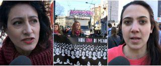 """8 marzo, donne in piazza a Milano: """"Perché uno sciopero? È l'unico modo per avere visibilità e non essere ignorate"""""""