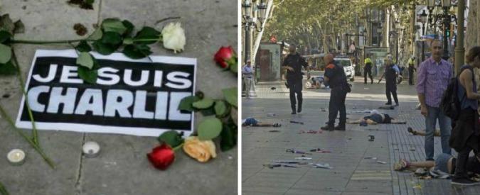 Attentato Barcellona, da Charlie Hebdo alla Rambla: oltre due anni di terrore in Europa – CRONOLOGIA