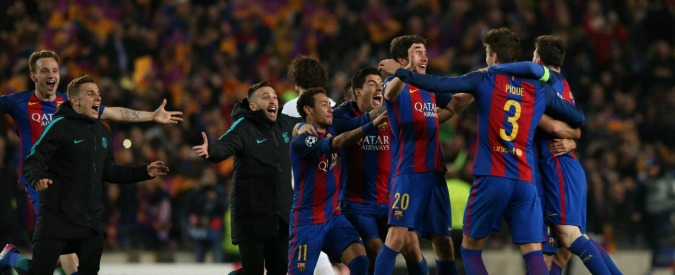 """La remuntada del Barcellona, media spagnoli: """"Sono leggenda"""". Contestato Psg, Thiago Motta investe tifoso – VIDEO"""