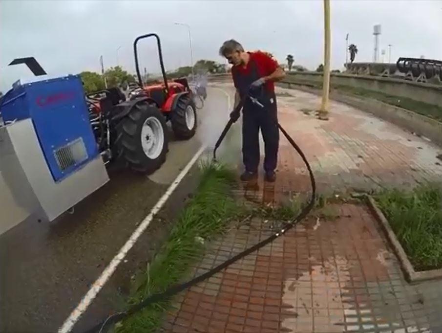 Agricoltura il primo eco diserbante italiano tutto for Diserbante per erbacce